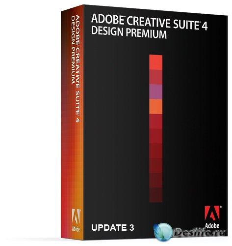 Adobe CS4 Design Premium DVD Update 3 (rus/eng)