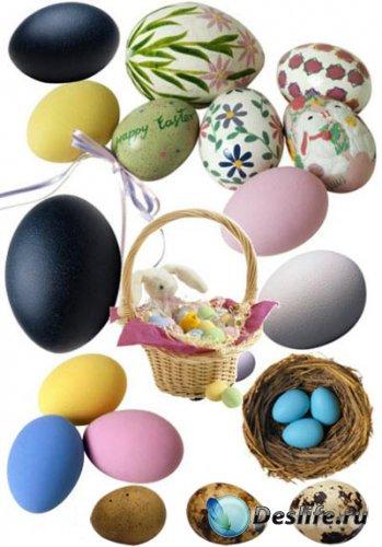 Пасхальные яйца - КлипАрт