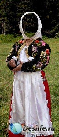 Костюм для Фотошопа - Сардский костюм 3