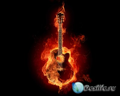 Огненные обои