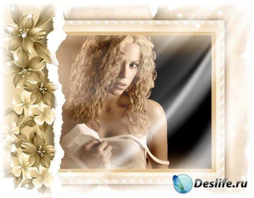 Рамка для фотошоп – Романтическая рамка