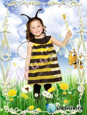 Детский костюм для Фотошопа - Поле Одуванчиков