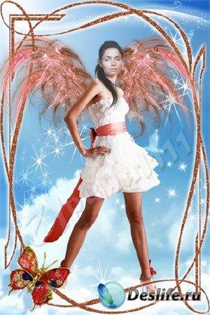 Женский костюм для фотошопа - И все-таки ангел