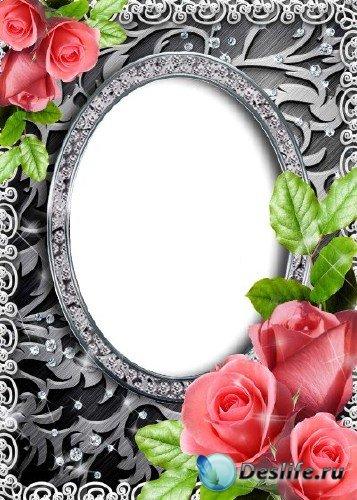 Рамка для Фотошопа - Дивный узор