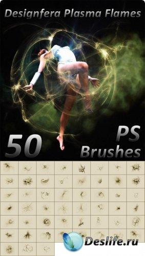 Designfera Plasma Flames PS Brushes