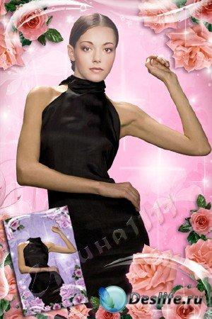 Женский костюм для фотошопа - Минуты нежности