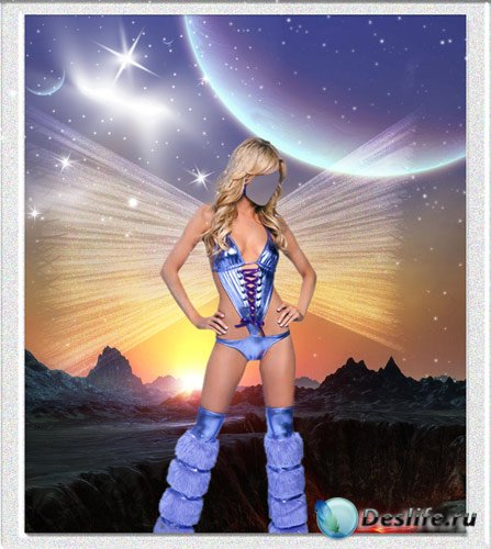 Костюм для фото - Космическая фея