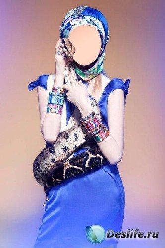 Костюм для Фотошопа - Девушка со змеей