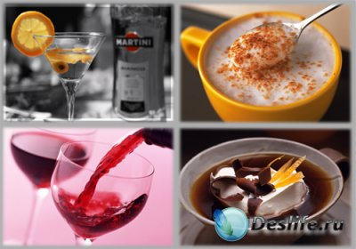 Wallpaper Mix - Coffee and Beverages