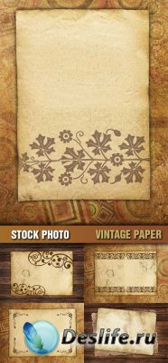 Фотоклипарт - Vintage Paper \ Винтажная бумага