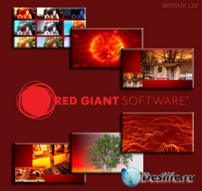 Red Giant Software Full Collection 2009 - плагины и фильтры