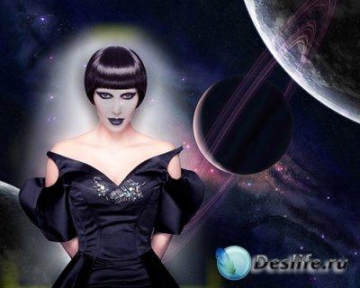 Костюм для Фотошопа - Гостья с другой планеты