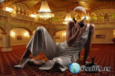 Костюм для Фотошопа – Звонок из апартаментов