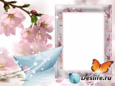 Рамка для Фотошопа - Весна