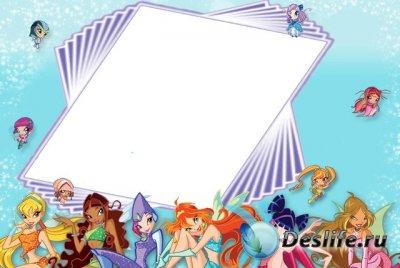 Рамка для фотошопа - WinX