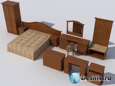 3D Модели мебели Камелия. Дизайн-Мебель