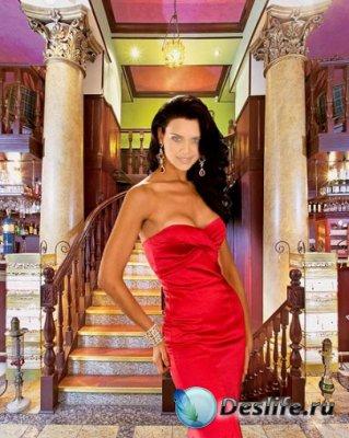 Женский костюм для Фотошопа - С Шиком