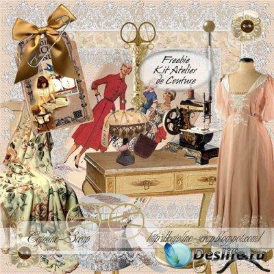 Скрап набор - Atelier de Couture