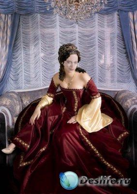 Костюм для фотошопа - Королева