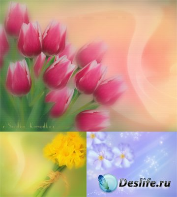 PSD исходники - Весна