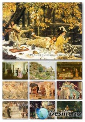 Картины - Викторианский стиль