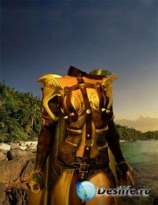 Костюм для Фотошопа - Амазонка