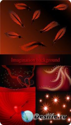 Imagination background - фоны в векторе