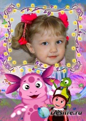 Детская рамочка для фотошопа
