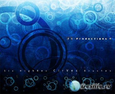 CirVec Photoshop Brushes - Кисти для фотошопа