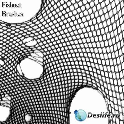 Fishnet Brushes - Кисти для фотошопа