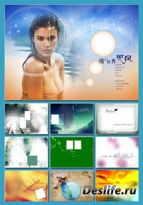 Многослойные фоны для фотошопа ч.01