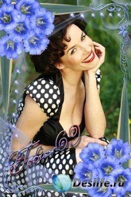 Рамочки для фотошопа - Весенние цветы