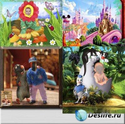 Костюмы для фотошопа - Детские прелести