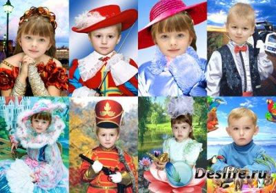 Костюмы для фотошопа - Для детских садиков