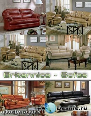 3D модели of Sofas from Britannica