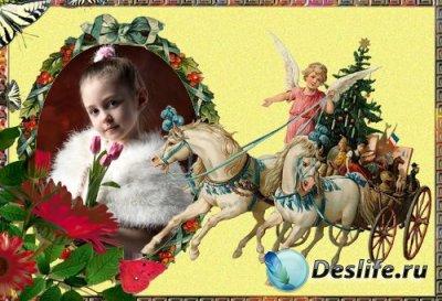 Рамка для фотошопа - В новый год