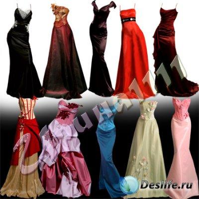 Костюм для фотошопа - Вечерние платья