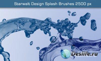 Starwalt Splash - Кисти для фотошопа