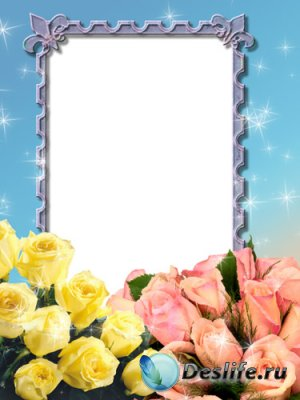 Рамка для фото - Розы