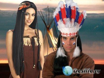 Костюмы для фотошопа - Во главе племени