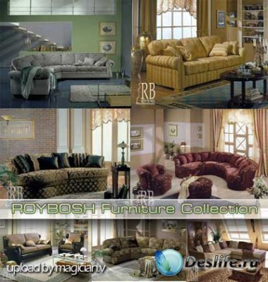 3D модели - ROYBOSH Furniture