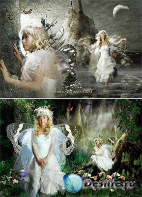 PSD исходники - Fairy Fairies 3