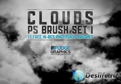 Hi-Res Clouds PS Brush Set - Кисти для фотошопа