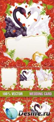 Stock Vector - Wedding Card