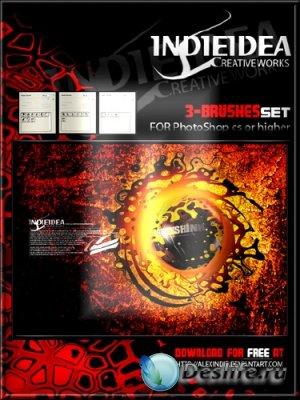 Indieidea Mix Brushes 2009 - Кисти для фотошопа