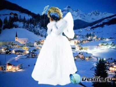 Костюм для фотошопа – Рождественский ангел