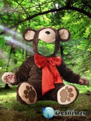 Костюм для фотошопа – Медвежонок
