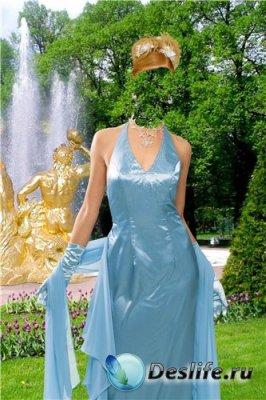 Костюм для фотошоп – В парке у фонтана