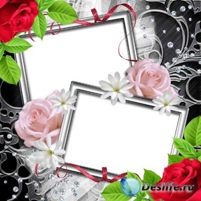 Рамка для фотошопа – Романтичная сказка