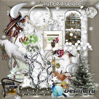 Скрап-набор для фотошопа - Зимняя тишина (Winter silence)